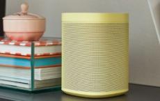 Sonos的智能扬声器采用五种新配色为您增光添彩